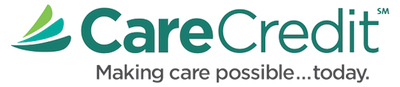 Grass Valley New Patient Information - Image of the CareCredit logo